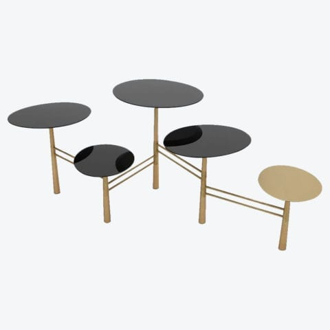 Table Basse Pebble Noire