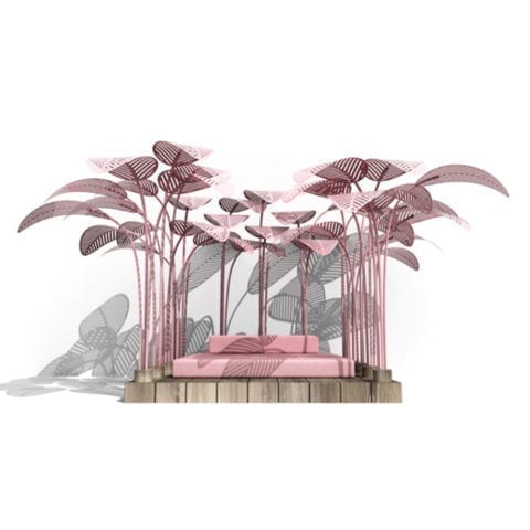 Le Refuge Flamingo Pink
