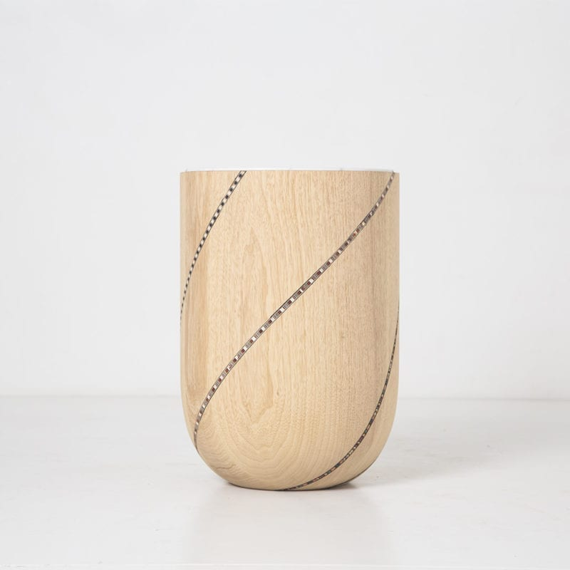 The Invisible Collection Nada Debs Funquetery Swirl Side Table