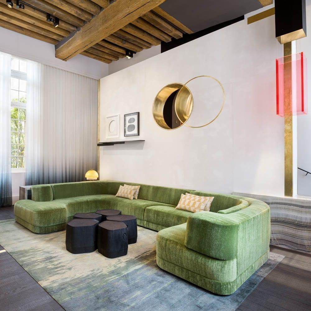 The Invisible Collection Sofa Alexandra Charles Zana