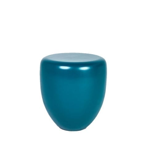 Mat Dot Peacock Blue Side Table
