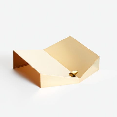 Golden Single Bookstand