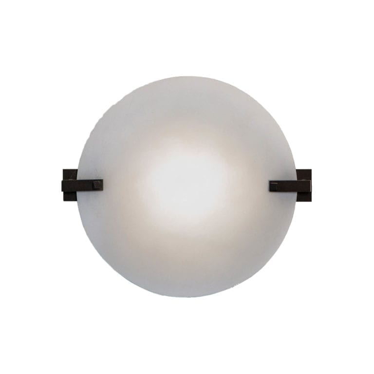 The Invisible Collection Sandrine Round Wall Lamp CSLB Studio