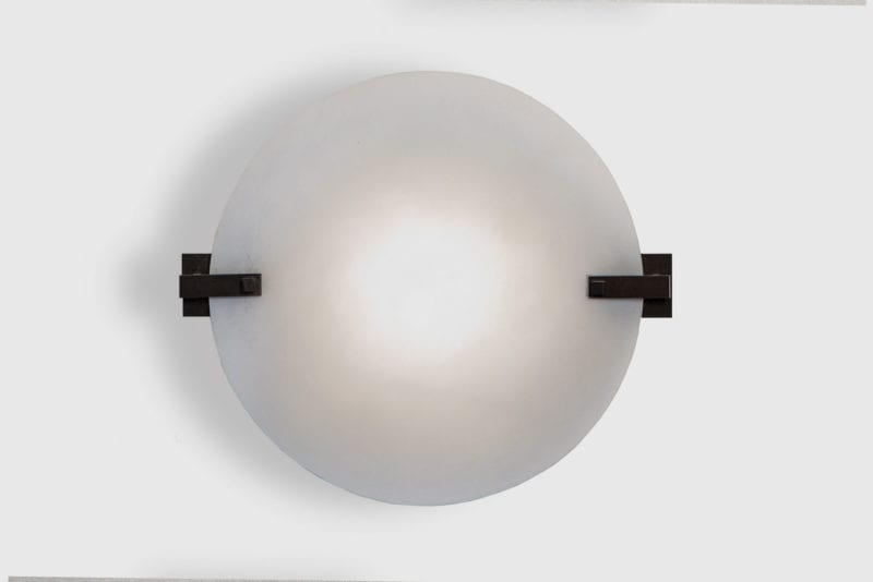 Sandrine Round Wall Lamp by Laurent Bourgois for CSLB Studio - The Invisible Collection