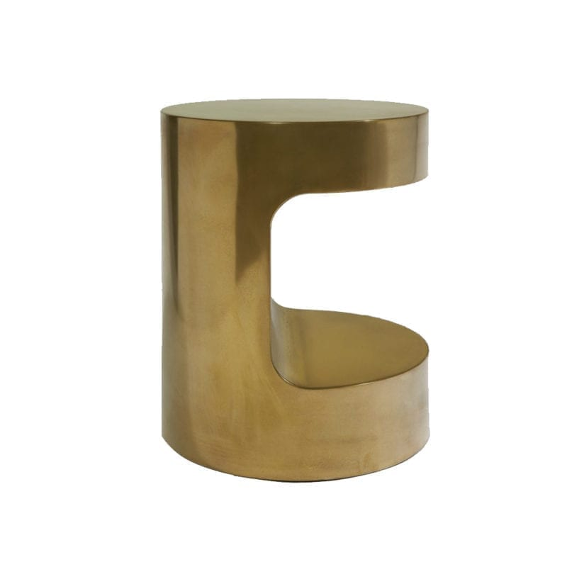 The Invisible Collection R12 Side Table Thierry Lemaire bronze