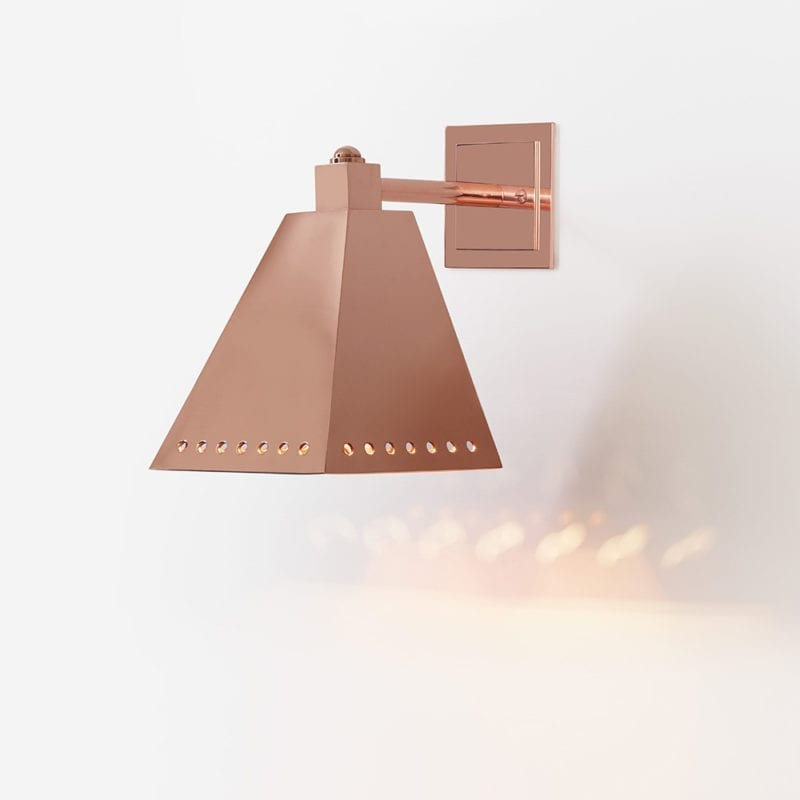 Rougemont II Wall Lamp by Cristina Prandoni - Available on The Invisible Collection