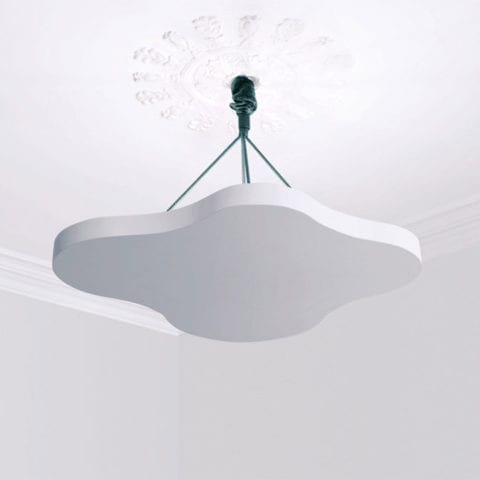 Encre Blanche Ceiling Lamp