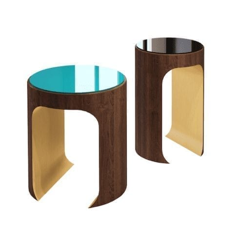 Hellmet Coloured Side Table