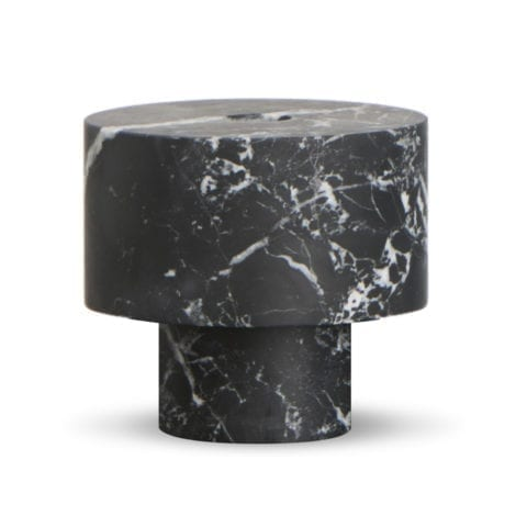 Inside Out Nero Marquina Candle Holder