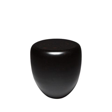 Dot Black and Brown Side Table