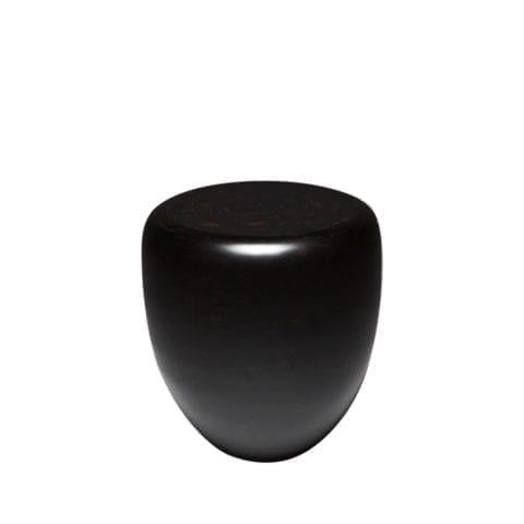 Table d'Appoint Dot Noir et Brun