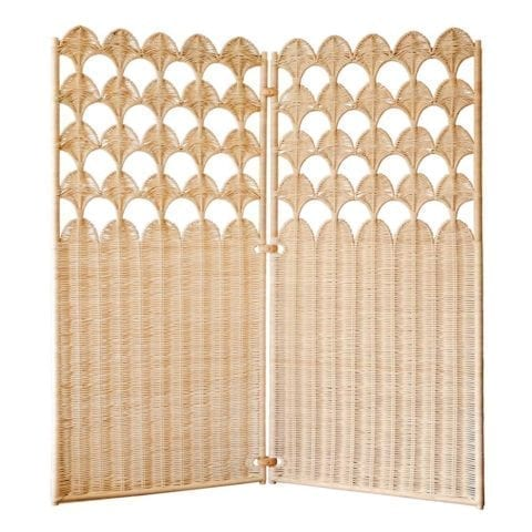 Fish Scale Folding Screen