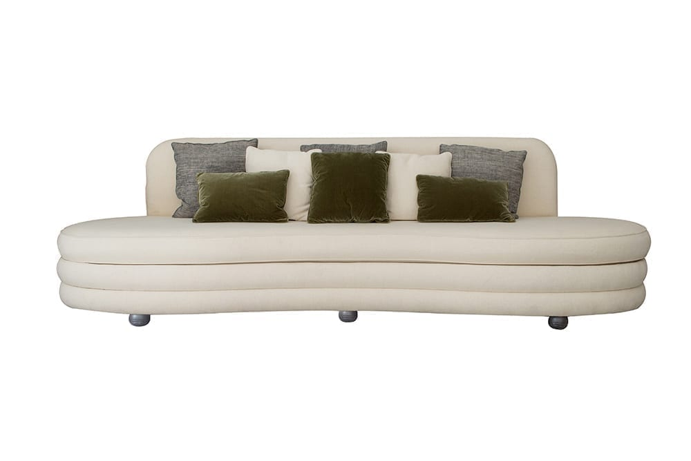 Odalisque Sofa by CSLB Studio - The Invisible Collection