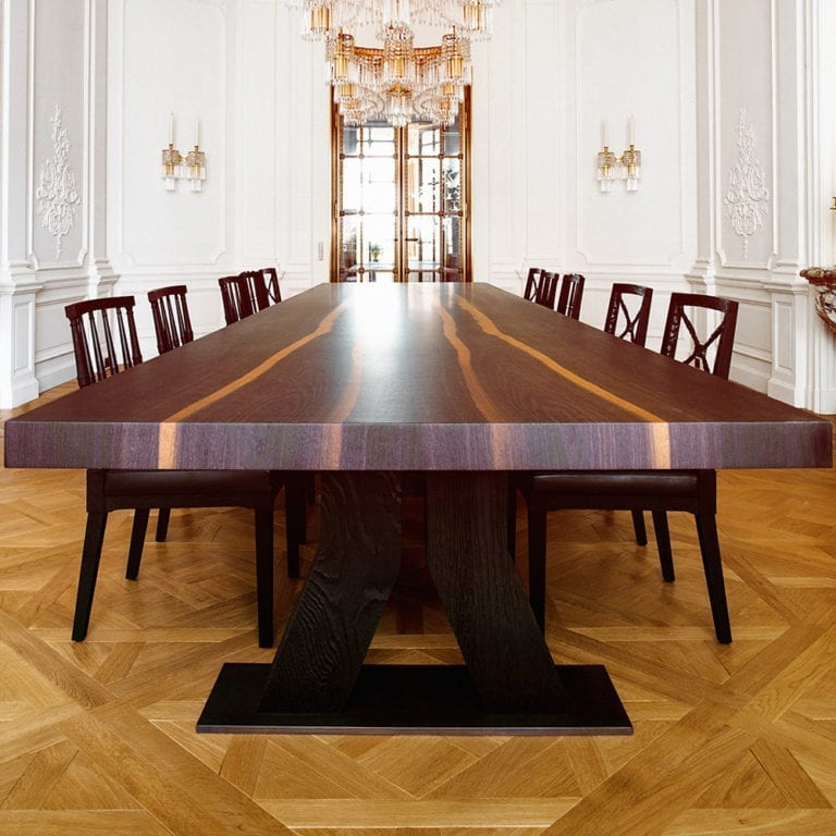 The Invisible Collection Ays Dining Table Aline Hazarian