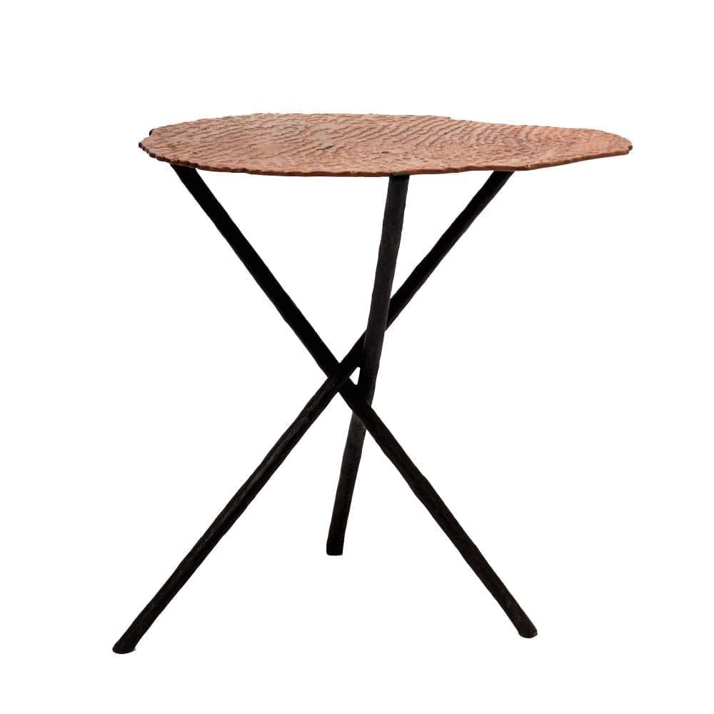 The Invisible Collection Haldi Side Table Aline Hazarian