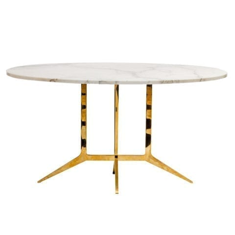 The Invisible Collection Spandar Oval Table Aline Hazarian