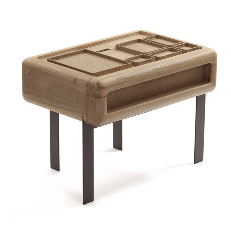The Invisible Collection Tupi Nightstand Etel Arthur Casas