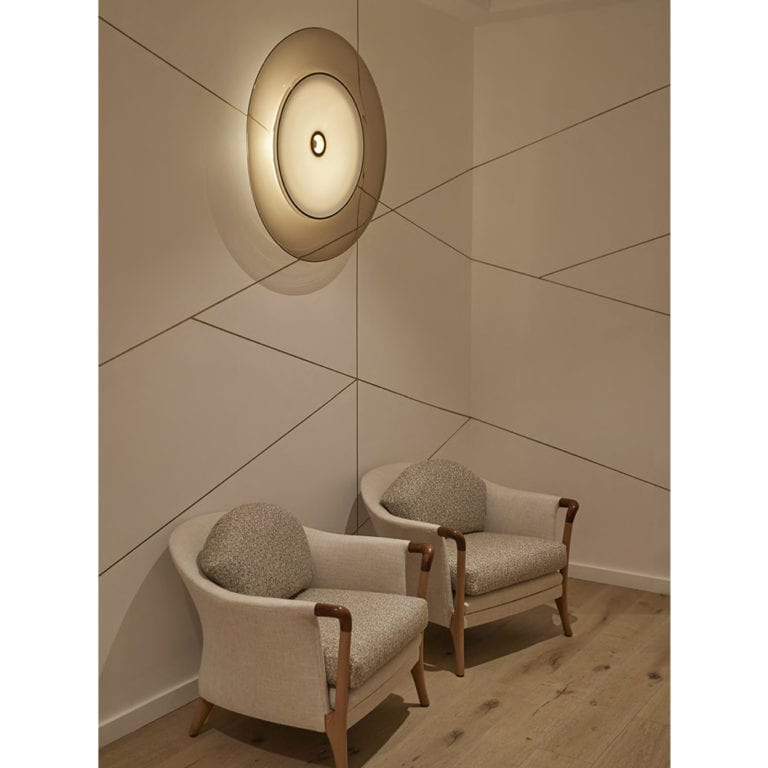 The Invisible Collection Saturne Wall Lamp Jeremy Maxwell