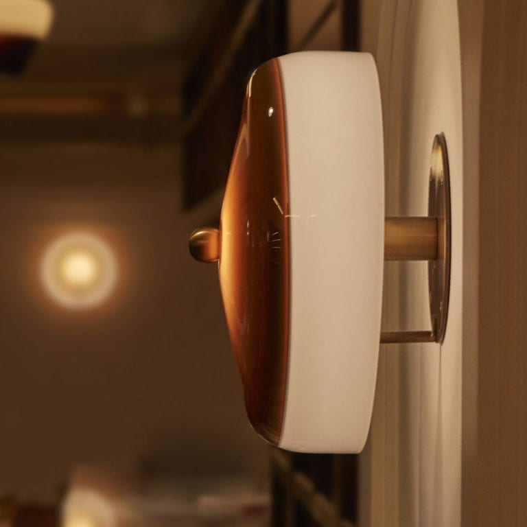 The Invisible Collection Tea Time Wall Lamp Jeremy Maxwell
