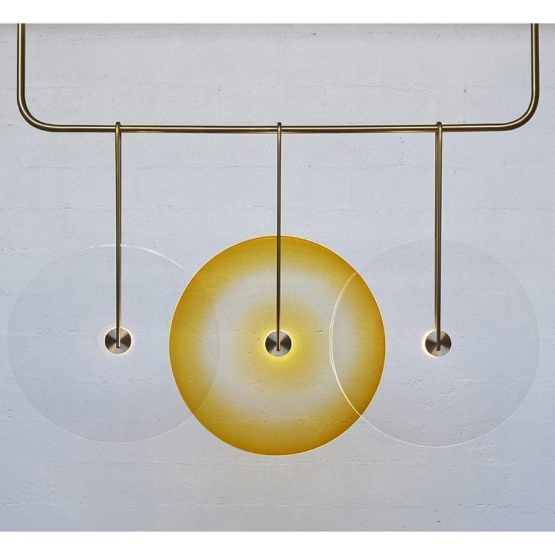 The Invisible Collection Nucleus Chandelier Jeremy Maxwell