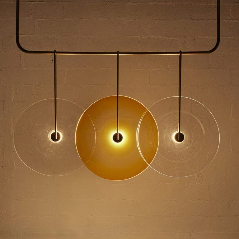 The Invisible Collection Nucleus Lamp Jeremy Maxwell