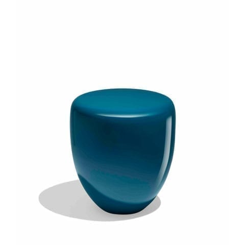 Table d'Appoint Dot Bleu Paon