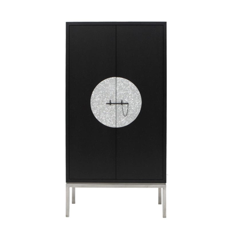The Invisible Collection Moon Cabinet by Nada Debs