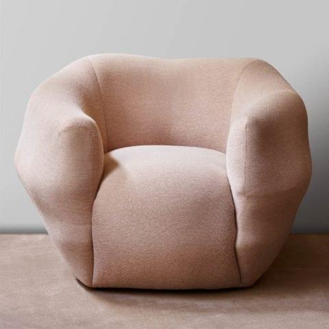 Pink Asymétrie Armchair
