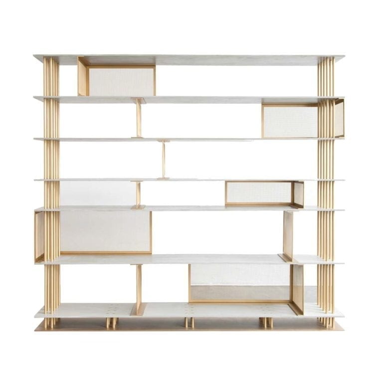 The Invisible Collection Cortland Bookshelf 2 Atelier d'Amis