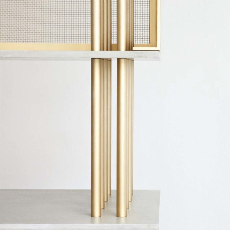 Cortland Bookcase by atelier d'amis - The Invisible Collection