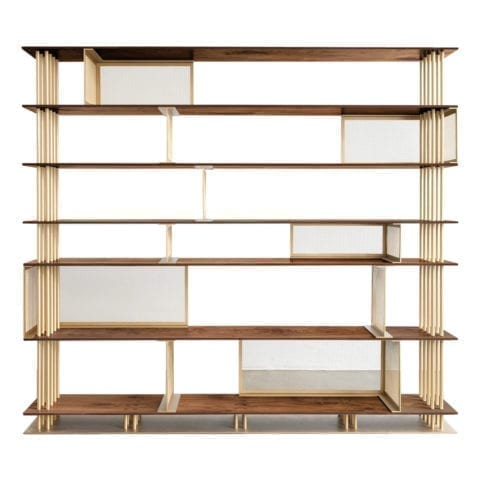 he Invisible Collection Cortland Bookshelf 4 Atelier d'Amis