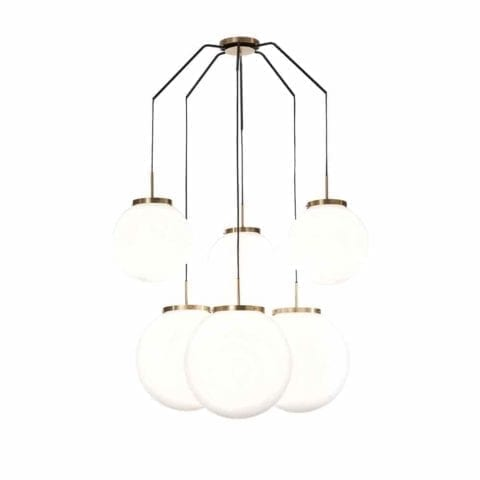 Ceiling lamp King Sun x6