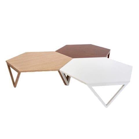 The Invisible Collection Pentagon Coffee Table Serge Castella