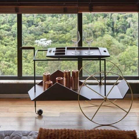 JZ Tea Trolley de Jorge Zalszupin