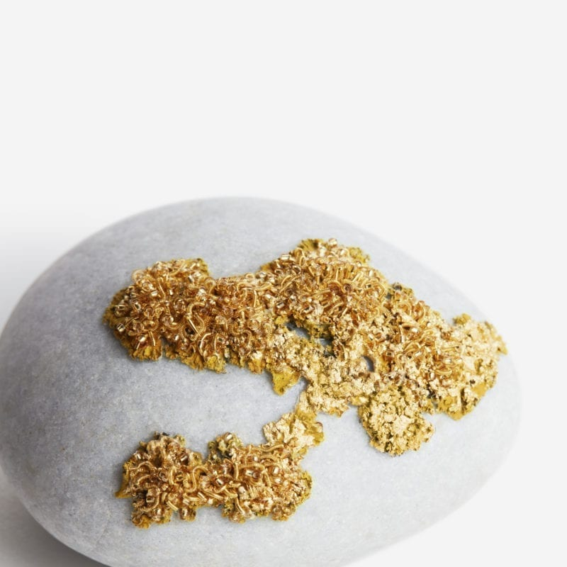 The_Invisible_Collection_Creations_Dragonfly_Golden_Lichen_Pebbles