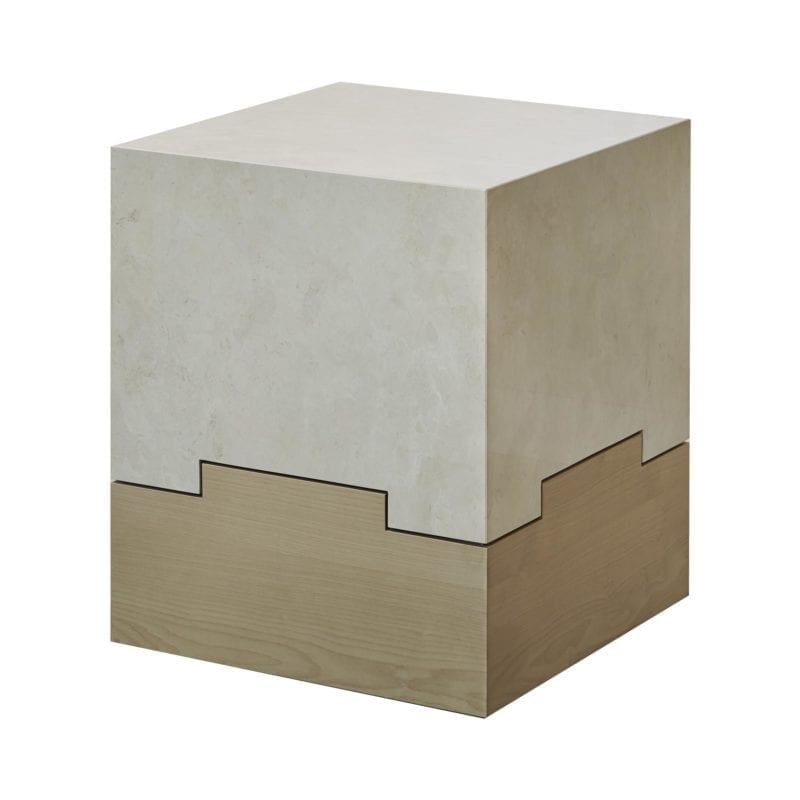 The Invisible Collection Spescha End Table Elliott Barnes