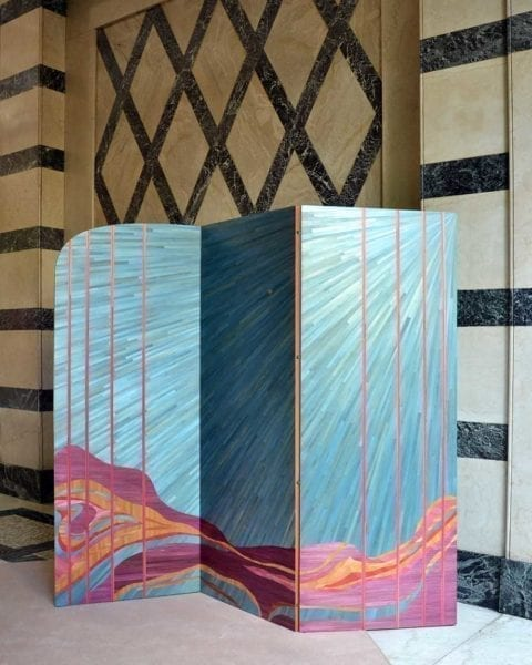 Mirage Folding Screen by Cristina Celestino - The Invisible Collection