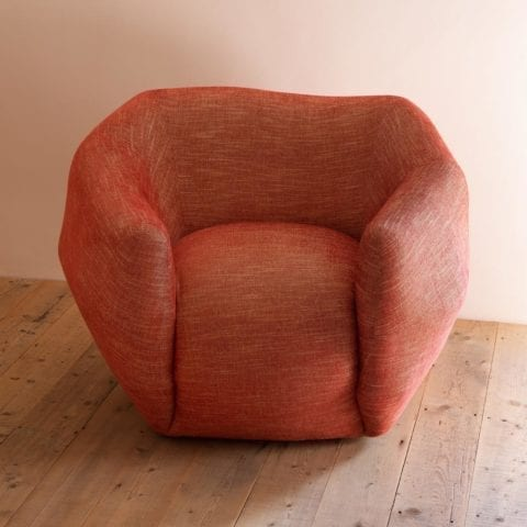 TheInvisibleCollection_PierreYovanovitch_Armchair_Paprika
