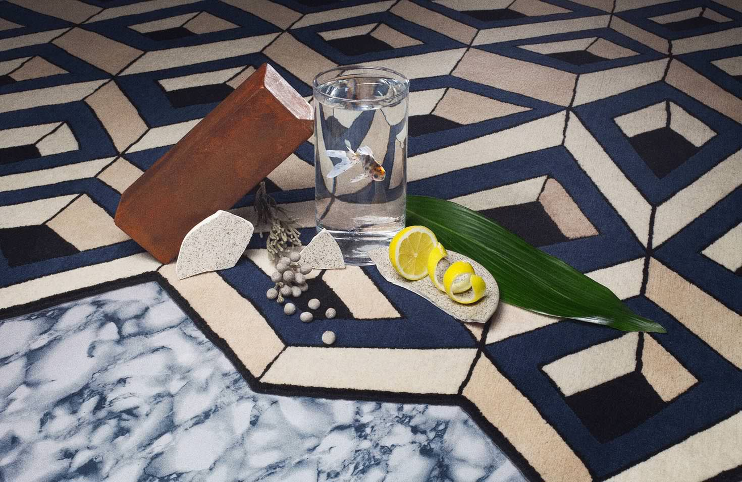 Tapis Sri Di par Atelier Fevrier - The Invisible Collection