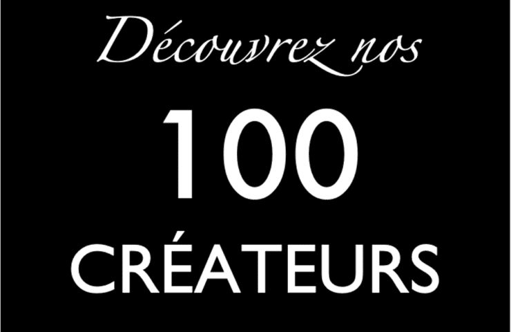 100 INVISIBLE COLLECTION CREATEURS