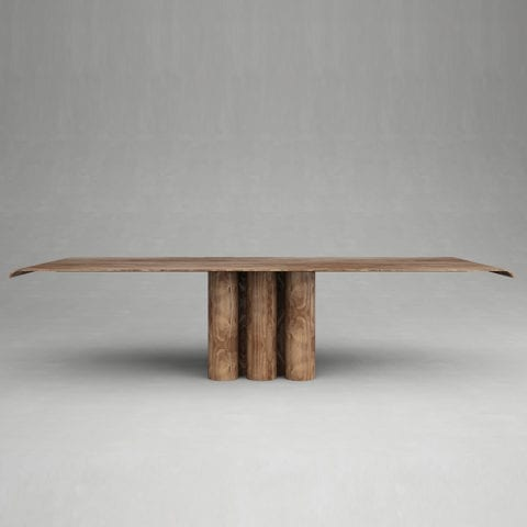 Giorgio 2 Dining Table Walnut