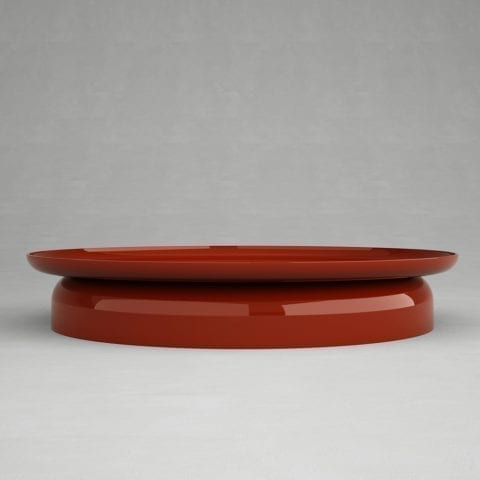 Table Basse Giorgio 2 Laque Rouge