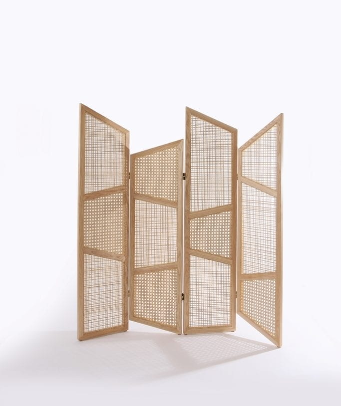The Invisible Collection Summerland Folding Screen Nada Debs
