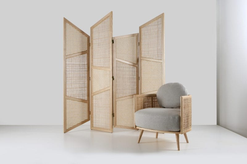 Draw The Line Folding Screen by Nada Debs