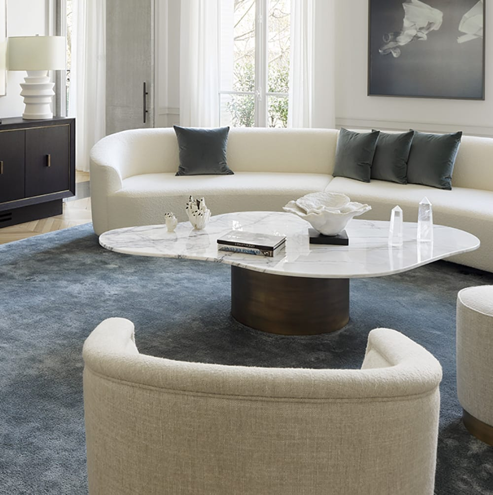 The Invisible Collection White Shadow Coffee Table Damien Langlois-Meurinne