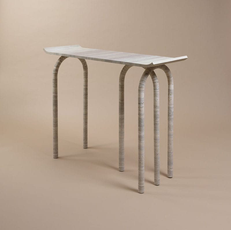 The Invisible Collection Arca Console Noma Editions