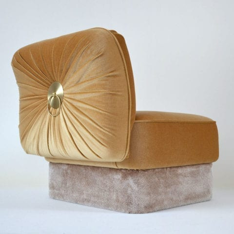 The Invisible Collection Powder Armchair Cristina Celestino