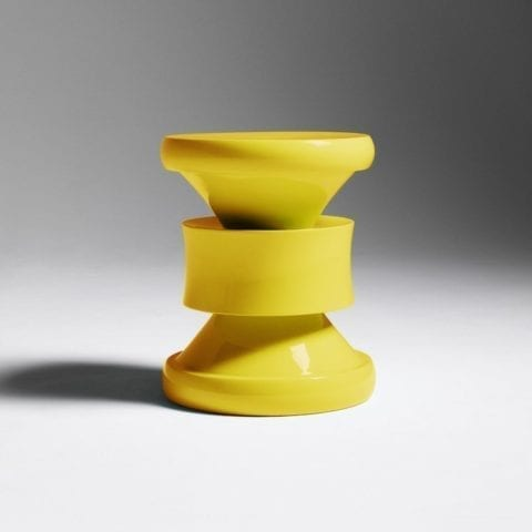 Tabouret Barth Les Intemporels Jaune