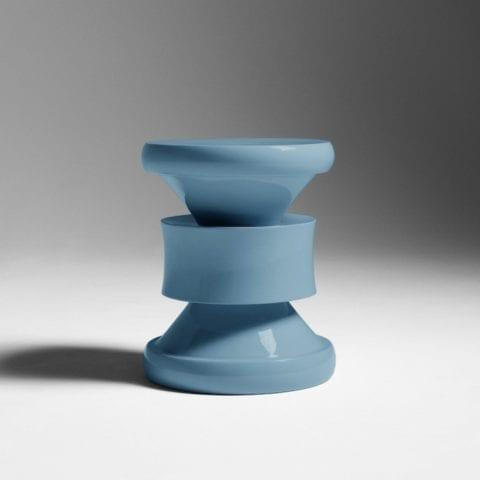 Tabouret Barth Les Intemporels Bleu-Gris