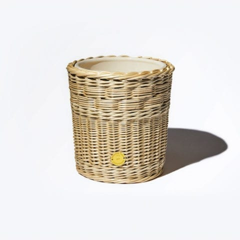 The Invisible Collection Wicker Candle Holder Diptyque